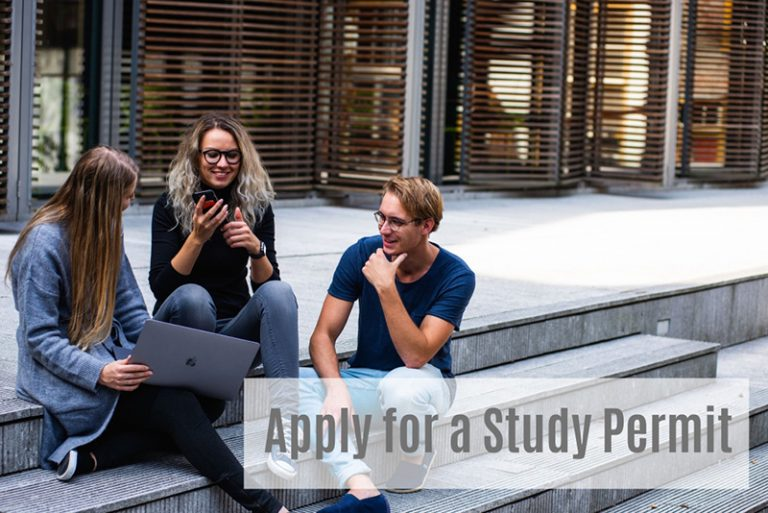 How to apply for a study permit