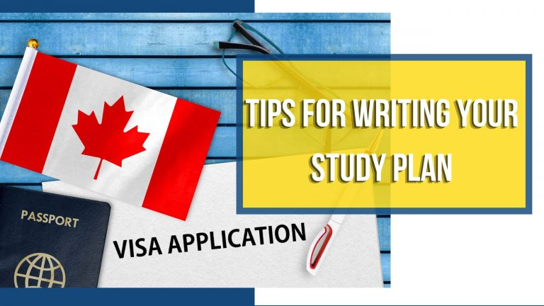 Tips for Writing Your Study Plan