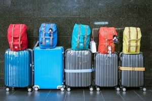 Luggages and backpacks